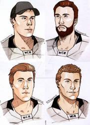 Matthews, Ekblad, McDavid, Eichel