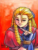 Sketchcard Karin Alpha by fedde