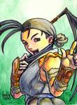 Sketchcard SF3 Ibuki