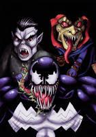 Venom Morbius DemoGoblin Color by fedde