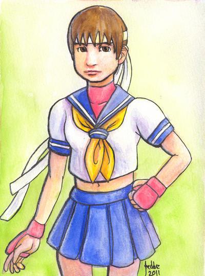 Sketchcard SFEX Sakura by fedde