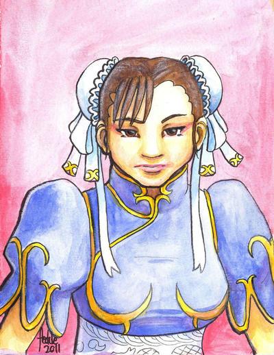 Sketchcard SFEX Chun Li by fedde
