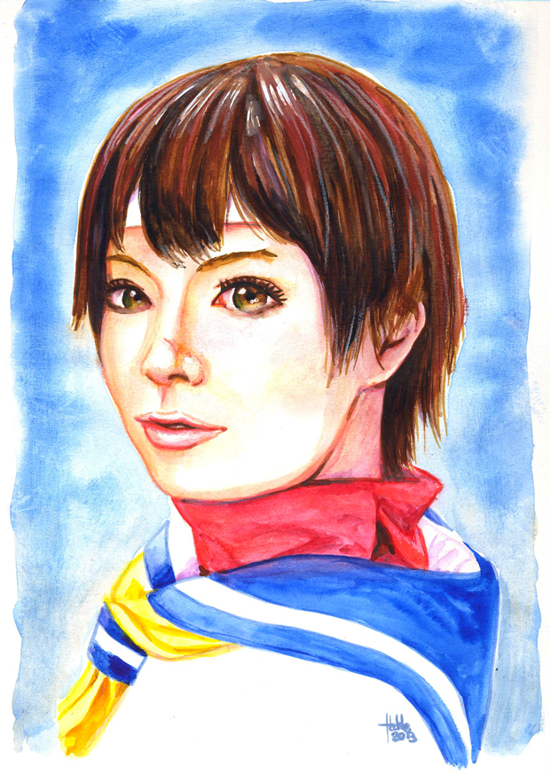 Sakura Kasugano by fedde