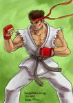 Daily Sketches Ryu
