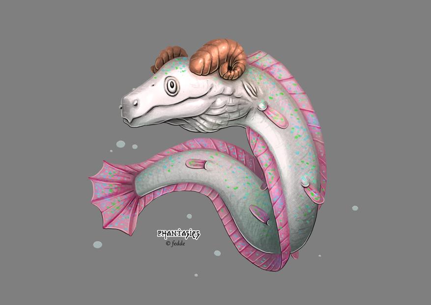 Phantasies Concept Taurus eel by fedde
