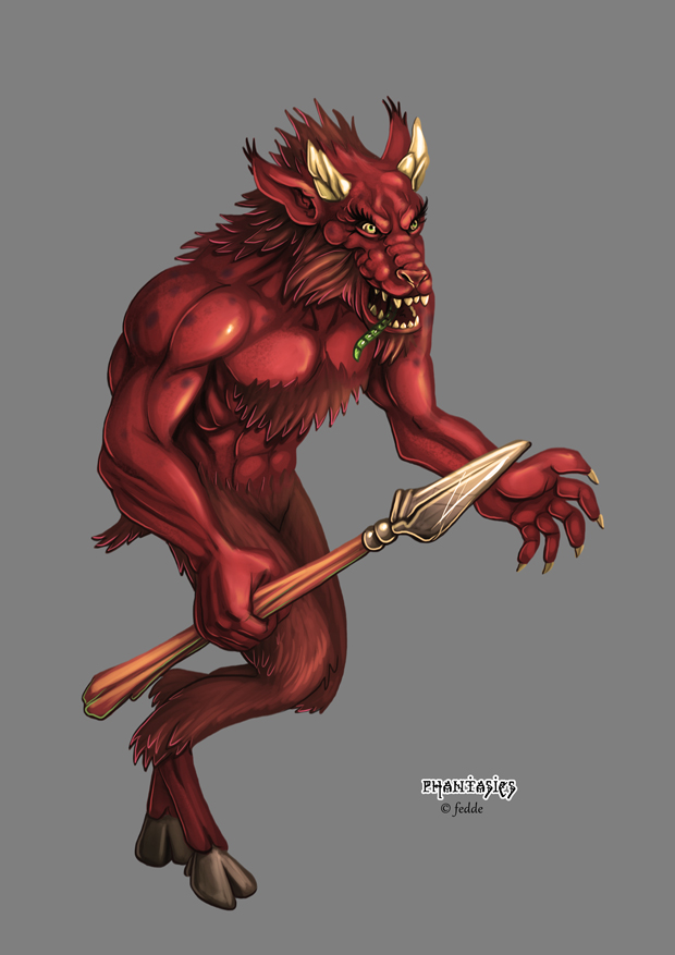 Phantasies Concept Plague Satyr by fedde