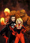 Daily Sketches Fantastic Four