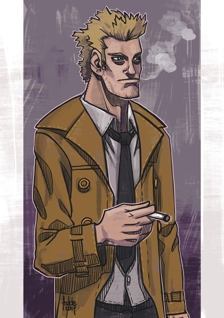 Daily Sketches Constantine by fedde