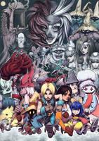 Remembering Final Fantasy IX by fedde