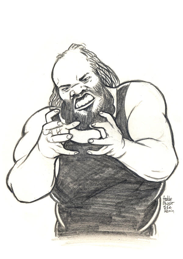 Daily Sketches Mark Henry by fedde