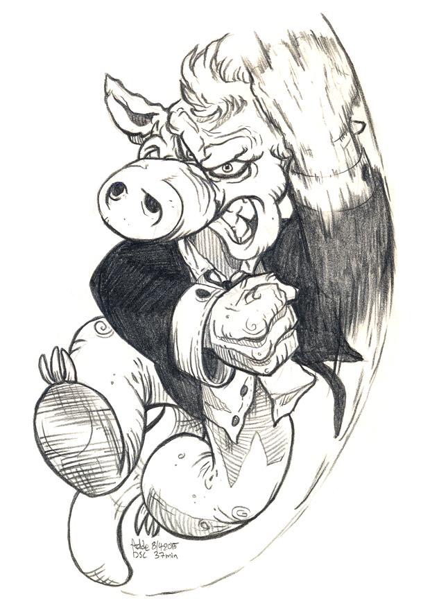 Daily Sketches Cerebus