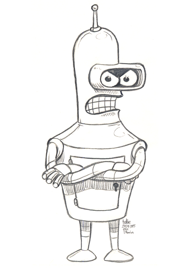 Daily Sketches Bender by fedde