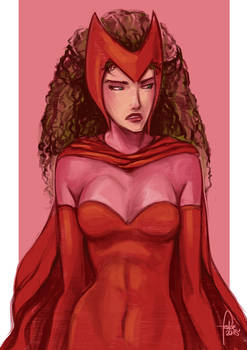 Daily Sketches Scarlet Witch