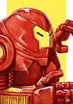 Daily Sketches Hulkbuster Iron Man