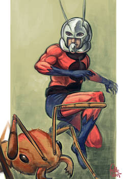 Daily Sketches Ant man