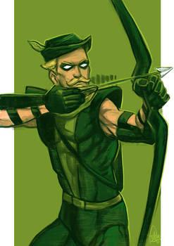 Daily Sketches Green Arrow