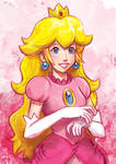 Daily Sketches Princess Peach