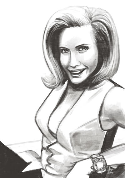 Daily Sketches Dr. Catherine Gale by fedde