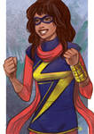 Daily Sketches MS Marvel