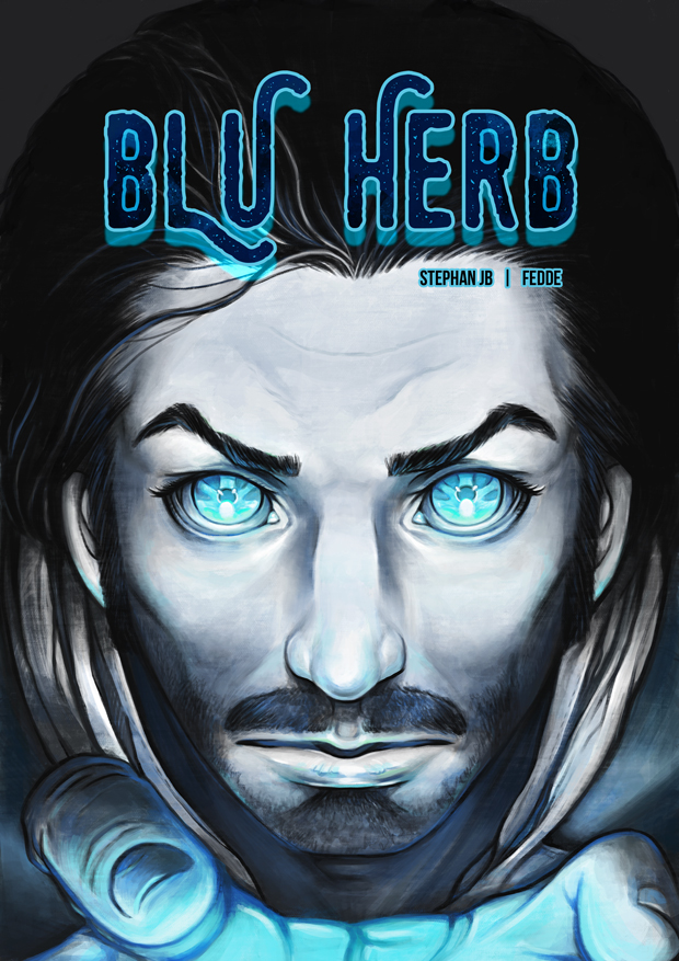 Blu Herb issue 1 Cover by fedde