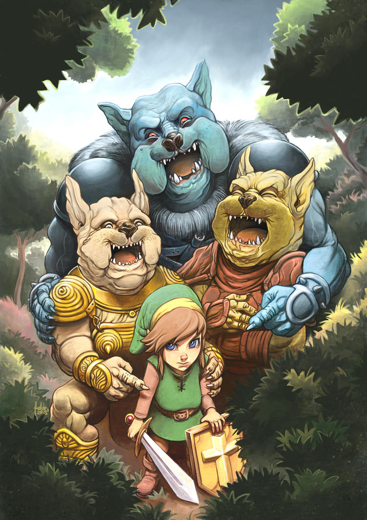 Link's blacklist: Moblin Mobbing by fedde