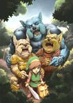 Link's blacklist: Moblin Mobbing