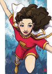 Daily Sketches Mary Marvel