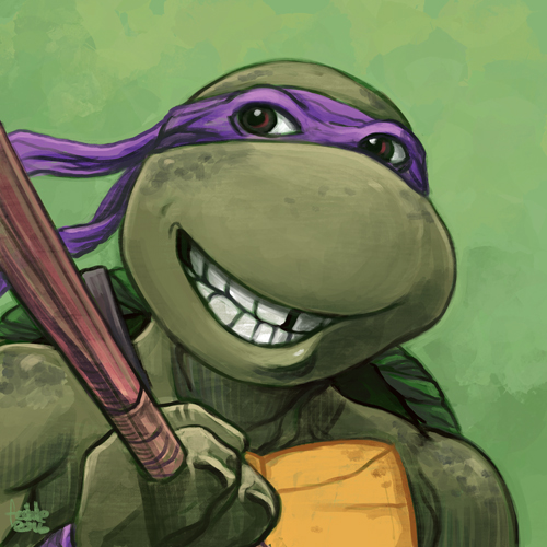Daily Sketches Donatello by fedde