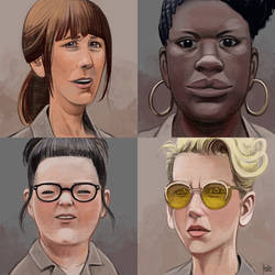 Daily Sketches New Ghostbusters by fedde