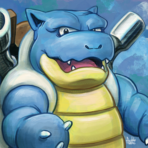 Daily Sketches Blastoise by fedde