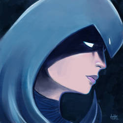 Daily Sketches Raven by fedde