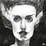 Daily Sketches Bride of Frankenstein