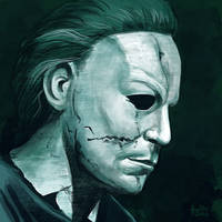 Daily Sketches Michael Myers by fedde