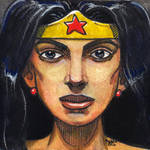 Daily Sketches Wonder Woman by fedde
