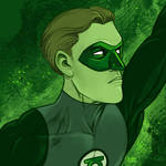Daily Sketches Green Lantern