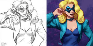 Daily Sketches Black Canary