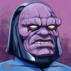 Daily Sketches Darkseid by fedde