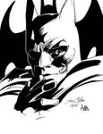 Daily Sketches ink Colan's Batman