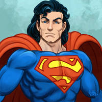 Daily Sketches Superman by fedde