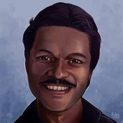 Daily Sketches Lando Calrissian