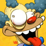 Daily Sketches Krusty the Clown