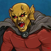 Daily Sketches Etrigan the Demon by fedde