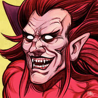 Daily Sketches Mephisto by fedde