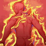 Daily Sketches Human Torch