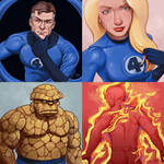 Fantastic Four daily sketches 2018
