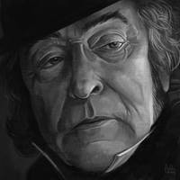 Daily Sketches Ebenezer Scrooge by fedde