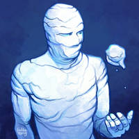 Daily Sketches Iceman by fedde