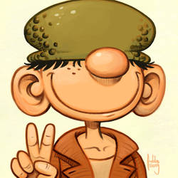 Daily Sketches Beetle Bailey by fedde