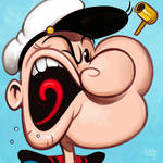 Daily Sketches Popeye