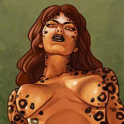 Daily Sketches Cheetah